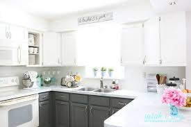 inexpensive backsplash for kitchen remodelaholic diy budget friendly white kitchen renovation with