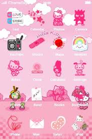 special kitty iphone theme cartoons iphone themes