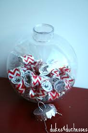 gum filled christmas ornament stocking stuffers dukes and duchesses