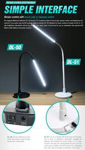 diasonic led desk lamp reading light stand best office bright