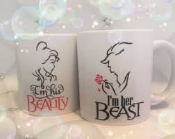 his and hers wedding gifts beauty beast shower etsy