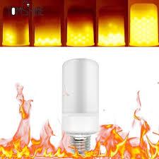led flame effect fire light bulbs e27 e26 led flame effect fire light bulbs flickering emulation flame