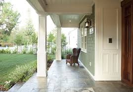 front porch columns exterior traditional with wrap around metal