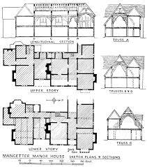 manor house floor plans uk