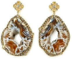 Geode Ring Box Britt U0027s Pick Tanya Farah U0027s Geode Earrings U2013 Jck
