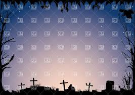 halloween background with cemetery vector image 33801 u2013 rfclipart