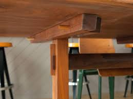 trestle tables for sale george nakashima trestle dining table with rosewood butterfly joints
