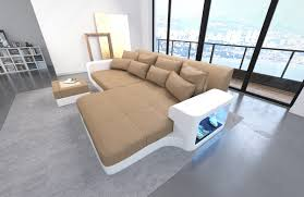 sofa mit beleuchtung big sofa leather sofa with led lights sectional corner sofa