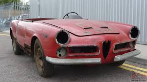 alfa romeo montreal for sale alfa romeo 2000 touring spider 1959 restoration project