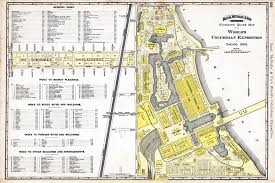 file map of 1893 world u0027s columbian exposition by rand mcnally jpg