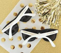 personalized sunglasses wedding favors wedding favy favors gifts los angeles ca weddingwire