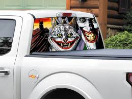 jdm sticker rear window product batman cat joker dc comics rear window decal sticker pick