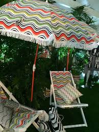 Large Beach Umbrella Target by Pattern Inside Out
