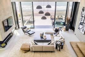 contemporary bright beach house located in california designed by