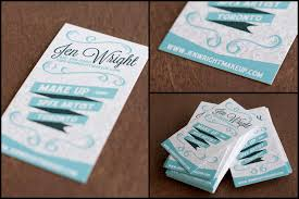Makeup Business Cards Designs Business Cards Breath Of Fresh Air
