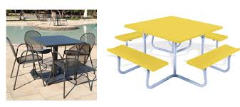 Commercial Patio Tables Commercial Outdoor Tables Of Gorgeous Dining Featuring Emu