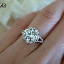 2 carat halo engagement ring best 3 carat halo engagement ring products on wanelo