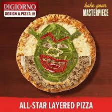 Design A Meme - all star layered pizza digiorno s design a pizza kit know your