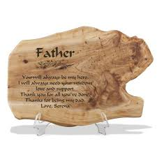 fir wood plaque for