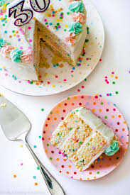 learn to decorate cakes at home funfetti layer cake sallys baking addiction