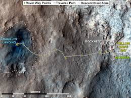 Mars Map Nasa Nasa Mars Rover Fully Analyzes First Soil Samples