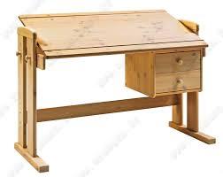 bureau ecolier en bois bureau d écolier bois inclinable