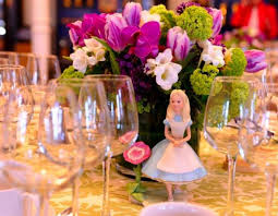 theme centerpieces whimsical disney inspired wedding centerpieces weddceremony