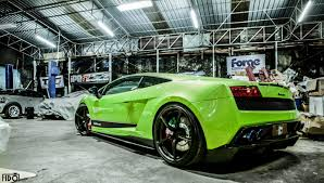 Lamborghini Gallardo Green - lamborghini gallardo lp 550 2 photoshoot by fidoklik u201d gtspirit