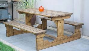 outdoor furniture patio picnic gardens benches cape town