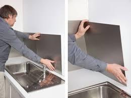 plaque aluminium cuisine tole perfor e inox castorama avec plaque inox castorama