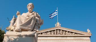 Greek Flag Background Timeline Of Greek And Roman Philosophers