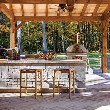 cuisine exterieure beton cuisine extérieure béton cour inspirations jardinage et