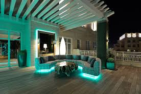 Fluorescent Floor L Malibu Led L Andscape With Living Wall Deck Contemporary And