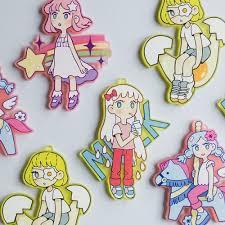 custom charm zap creatives frosted acrylic charms custom charms