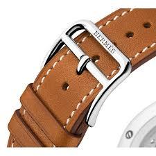 bracelet montre images Montre arceau herm s homme bracelet cuir marron jpg