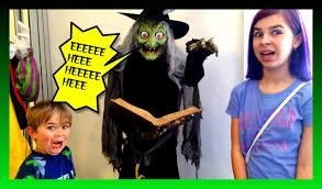halloween costume u0026 decorations shopping scary fun family vlog