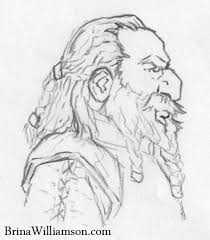 dwarf a day dwarf profile sketch scribblings of brina williamson