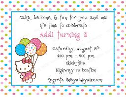 Invitation Card Hello Kitty 10 Hello Kitty Birthday Invitations With Envelopes Free Return