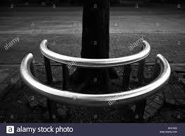 metal stainless steel tube designer public sitting bench kala