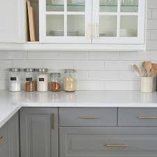 white kitchen with subway tile backsplas home design ideas