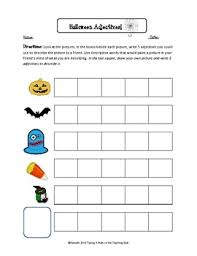 adjectives worksheets activities and thanksgiving included