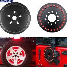 3rd brake light led ring for jeep lights spare tire wheel led 3rd third brake l ring for