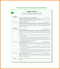 Resume Template For Mba Application Enchanting Harvard Mba Sample Resume For Hbs Class Of 2017 Mba