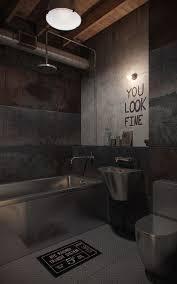 man cave bathroom design love the