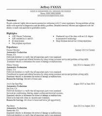 Central Service Technician Resume Sample by Automotive Resume Templates To Impress Any Employer Livecareer