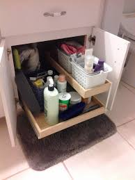 Bathroom Vanity Pull Out Shelves by Pullout Shelves Photo Gallery Updated Designs
