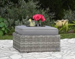 Basket Ottoman by Elle Decor Vallauris Ottoman With Cushion U0026 Reviews Wayfair