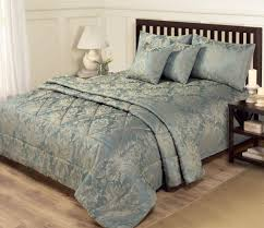 Gold Bedding Sets 6 Jacquard Blue Gold Bedding King Size Duvet Set
