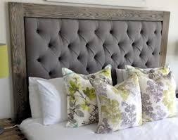 Upholstered And Wood Headboard Wood Framed Upholstered Headboard With Regard To Best 67 In