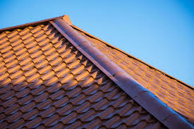 Metal Roof Tiles Metal Roof Tile Brown Traditional Look Tuscan
